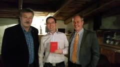 v.l.: Ulrich Förster, Michael Höppner, Dr. Eberhard Brecht, Foto: R. Brachmann - Klick für größeres Bild