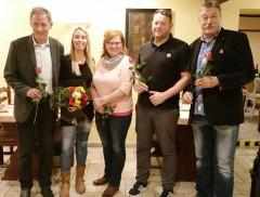 vlnr: Ronald Brachmann, Melanie Böttcher, Rosemarie Roemling-Germer, Florian Fahrtmann, Ulrich Förster